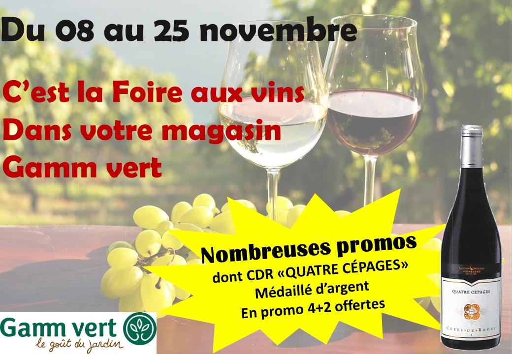 Gamm vert - Foire aux vins